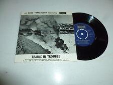 """ARGO - Trains In Trouble EP - 1966 UK mono vinyl EP 2-track 7"""" Viny Single"""