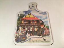 Kelsey Melamine Jill Walker Art Cutting Board Scott's Cafe St. Lucia Gros Islet