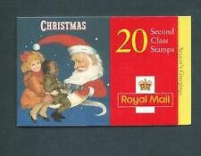 Lx14 Christmas 1997, Cyl B2A - B2E pB15 no dot 20 x 2nd barcode Booklet.