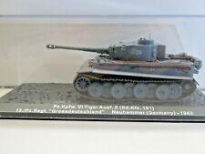 IXO Die-cast Model 1:72 Scale Pz.Kpfw. Vl Tiger Ausf.E Sd.Kfz.181 Neuhammer 1943