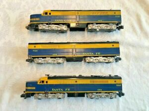 American Flyer by Gilbert #484, 485 and 486 PA-1 Diesel Engine set! L@@K