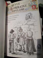 La revue Lorraine populaire edition spéciale  n°1 à 12 image de Hansi 1/150 ex