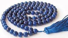 Blue Agate Rosary ( Blue Hakik Mala ) - Hindu Buddhist Prayer beads