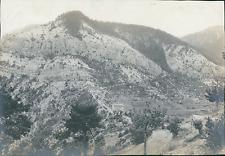 France, Alpes, le Col de la Madeleine  Vintage silver print Tirage argentiqu