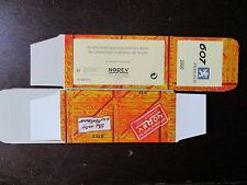 BOITE VIDE NOREV  PEUGEOT 607 2000 EMPTY BOX CAJA VACCIA
