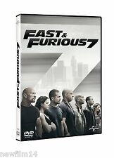 FAST & FURIOUS 7 DVD NUEVO ( SIN ABRIR ) A TODO GAS 7 SONY PICTURES