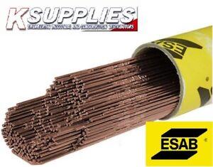 Esab A15 Mild Steel Tig Welding Rod ok 12.62 Tigrod Filler rod 5KG pack