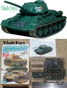 F-toys 1/144 Battle Tank Kit Collection Vol.1  Russian T-34/85 1944 1A