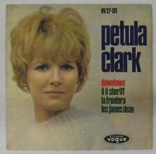 Petula Clark 45 Tours interprète Gainsbourg Espagne