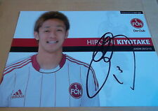 Hiroshi Kiyotake, 1.FC Nürnberg 2012/13, Hannover 96, FC Sevilla, Japan