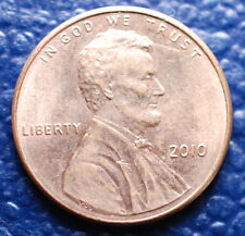 2010 USA 1 Cent Copper Red