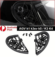 Motorcycle Helmet Visor Shield Gear Base Plate Set For AGV K1 K3SV K5 / K3 K4 AU