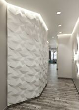*ICEBERG* 3D Decorative Wall Panels 1 pcs ABS Plastic mold for Plaster