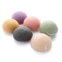 Natural Konjac Puff Cosmetic Sponge Facial Cleaning Face Wash Care Powder Tool