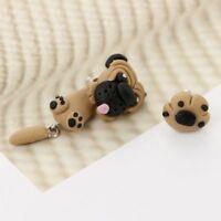 Polymer Clay Sharpei Pug Dog Gift Fashion Jewelry Ear Stud Stud Earring