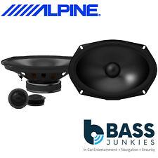 """BMW Mini R50 R53 Alpine 520 Watts 6""""x9"""" Rear Component Tweeters & Speakers Kit"""