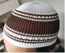 6 x Hommes Crâne Cap Musulman Islamique prière Chapeau Albanais Kufi Head Wear Clothing Couleurs
