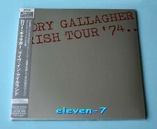 Rory Gallagher Irish Tour'74 Japon MINI LP CD Brand New & STILL SEALED touche