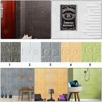 3D Waterproof  PE Foam Brick Self-adhesive Wall Sticker&DIY Wallpaper Decor