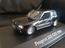 Peugeot 205 GTI 1985 Atlas Editions  Car Model  1:43 Scale