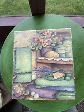 """""""Fresh Scents"""" Tissue Box  Cover Bob's Boxes Shelly Reeves Smith"""