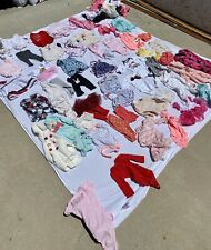 Bundle of baby girls clothes size 3-6 months