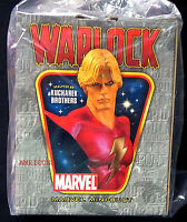 Warlock Bust Statue Club Exclusive New 2007 Bowen Designs Factory Sealed Marvel