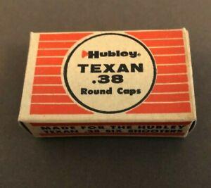 Box Of 100 Hubley Texan Six Shooter .38 Caliber Round Caps
