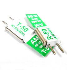 RC + Receiver Crystal Pair 40 MHZ 40.665 AM TX & RX Receiver 40MHZ CH 50 Green