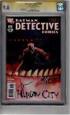 (B4) Detective Comics #876 CGC 9.6 Signature Series 2x Signed *Jock/Snyder*