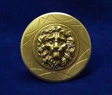 Greece Vintage Solid Brass Door Handle Knob Lion Head Push/Pull #4