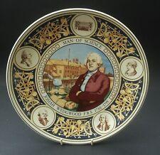 WEDGWOOD 250th ANNIVERSARY OF BIRTH OF JOSIAH WEDGWOOD 'MAN OF SCIENCE' PLATE
