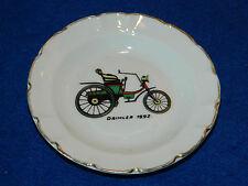 VINTAGE cendrier MERCEDES DAIMLER 1892 BENZ porcelaine de LIMOGES voltampere G.L