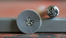 SUPPLY GUY 5mm Fleur de Lis Metal Punch Design Stamp SGA-4, Made in the USA