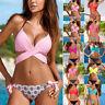 2019 Women Bikini Set Bandage Push Up Bra Swimwear Swimsuit Bathing Beachwear