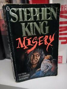 Stephen king misery *VGC Vintage paperback 1988*