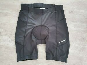 BNWT BALEAF Skin Men's 3D Padded Cycling Shorts with Side Pockets, UPF50+. LARGE