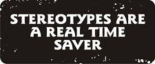 3 - Stereotypes, Real Time Saver Hard Hat Biker Helmet Sticker Bs518 3