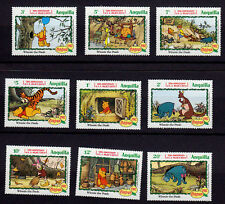 ANGUILLA    SCOTT# 511-519 MNH    CHRISTMAS/DISNEY TOPICAL