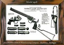 MAGNET  Vintage Ad Ads Marble's GAME GETTER Model 1908