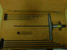 Starrett No 445m 0mm 225mm Depth Micrometer