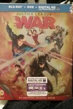Justice League War Steelbook blu ray DC