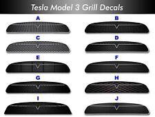 Tesla Model 3 Grilles-- New Design