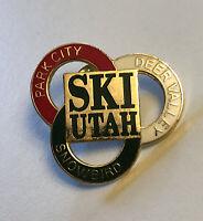 Snowbird SKI UTAH Park City Deer Valley Pin Badge Lapel Travel Resort Souvenir