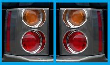COPPIA POSTERIORE LUCE ROSSO/ARANCIO 2002-05 per Range Rover L322 VOGUE Fanali di Coda Nuovo