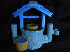 NEW! Fisher Price Little People Blue WELL ~ Nativity for Bethlehem Sheep or Farm