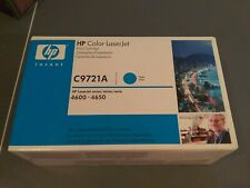 HP C9721A 641a CYAN NEW Genuine Toner Cartridge NEW SEALED