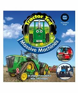 Tractor Ted Massive Machines Book by Ally Hurd Book The Cheap Fast Free Post