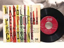 """RENATO CAROSONE - NAPOLI PETROLIFERA EP 4 TRACCE 45 GIRI 7"""" EX-/VG+ PATHE' 1958"""