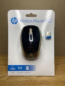 HP Wireless Mouse 200 200 SILK GOLD 2HU83AA#ABA_BB - NEW